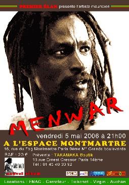 Menwar : l'appel de la Ravanne (Ile Maurice)
