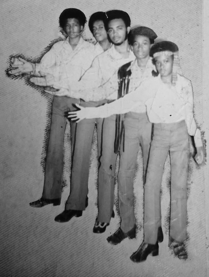 The Browne Bunch Band 1972  - crédit : droits réservés - Pictures from Cleveland Brownie and Danny Brownie Facebook accounts