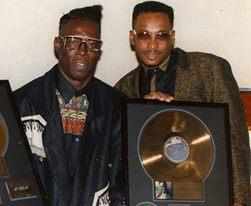 Shabba Ranks (left) and Clevie Browne - crédit : droits réservés