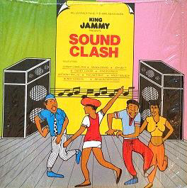 Sound clash LP 1989 King Jammys music by Steely and Clevie