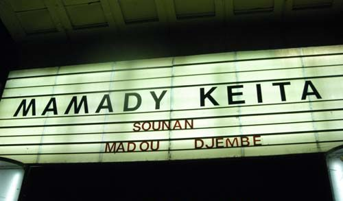 Concert de Mamady Keita et Guem au Bataclan - Paris - crédit Danyel Maunoury