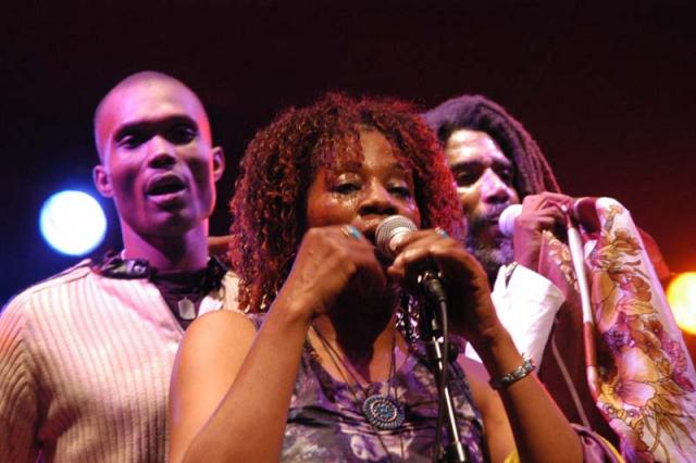 Boukman Esperyans - Haïti - crédit Daniel Maunoury - Cabaret Sauvage 2004