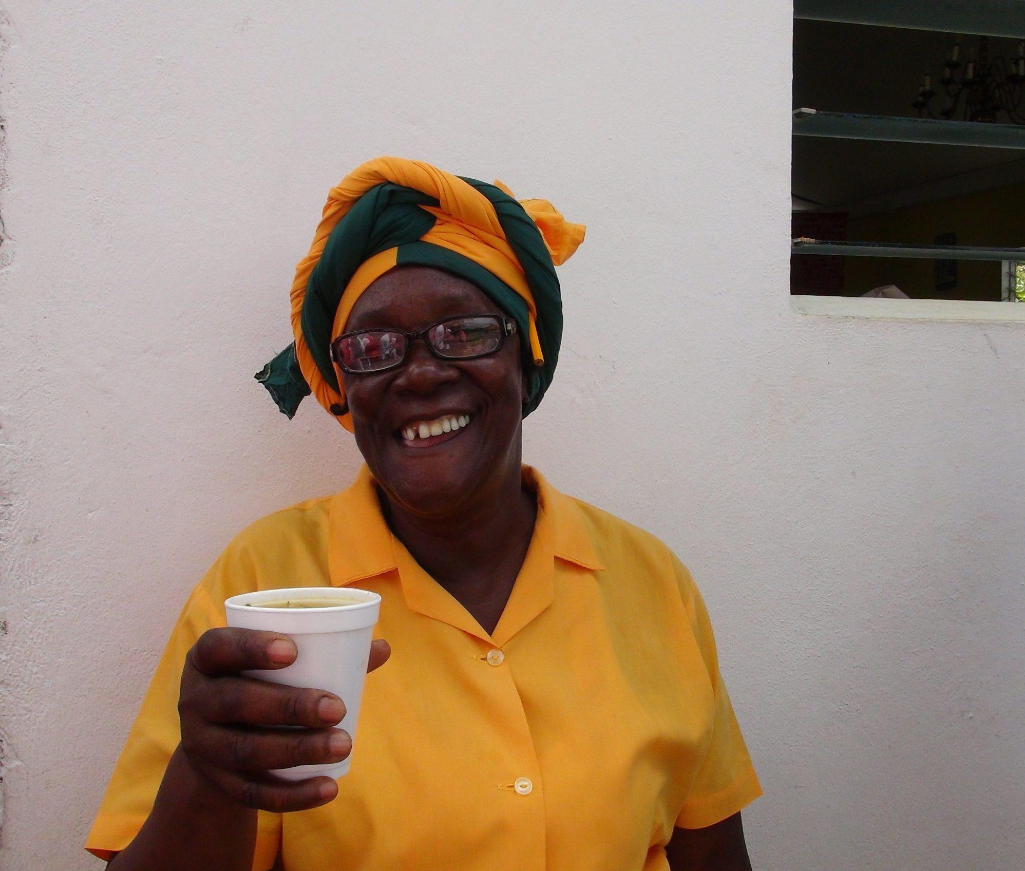 Pastor Selby @ Watt Town Jamaica 2013 crédit S. Delphin